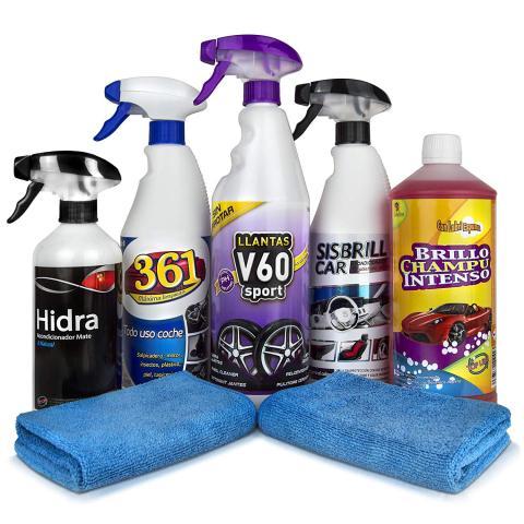 Kit de limpieza para coches