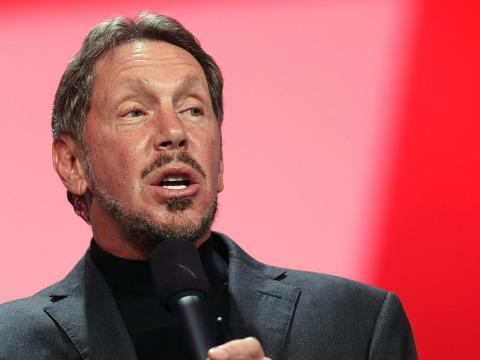 Larry Ellison, cofundador de Oracle