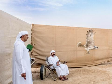 The last leg of my trip started in the United Arab Emirates. After spending close to two weeks in Dubai, I took a day trip to Abu Dhabi to wake up at dawn and watch falconers train their falcons. Falconry has a central role in