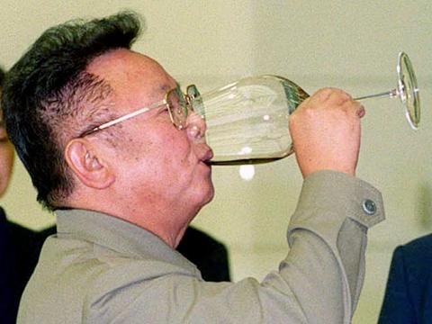 Leader Kim Jong-il spent $800,000 a year on Hennessy.