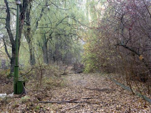 Camino en Pripyat, 1996.