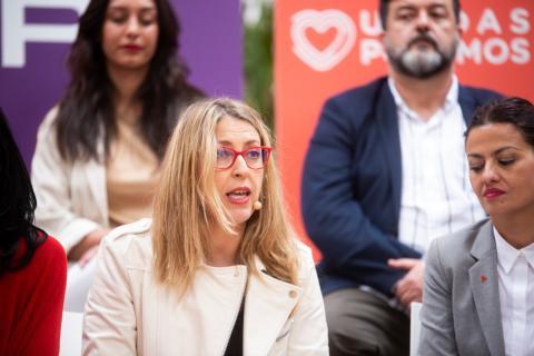María Eugenia Palop, cabeza de lista de Podemos para las Elecciones Europeas