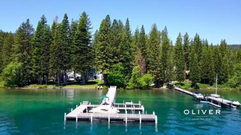 Between the two properties, Zuckerberg owns 600 feet of Lake Tahoe private waterfront.