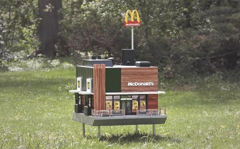 McHive, el restaurante para abejas de McDonald's