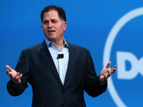 Michael Dell, fundador y CEO de Dell