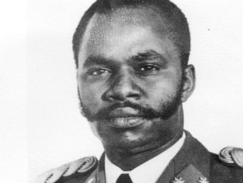 Michel Micombero, dictador de Burundi entre 1966 y 1976