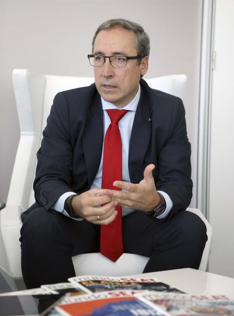 Mikel Palomera, director general de Seat España