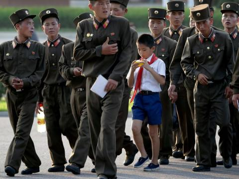 More than 40% of North Koreans are undernourished.