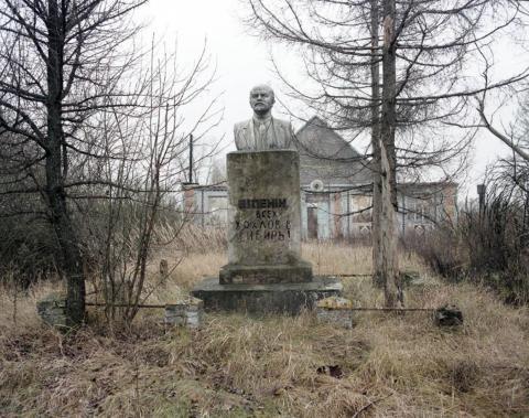 Busto de Lenin, 1998.