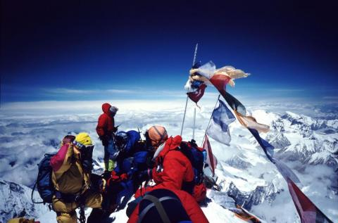 The mountain surged into hot-spot status after guides offering commercial missions became popular in the 1990s.