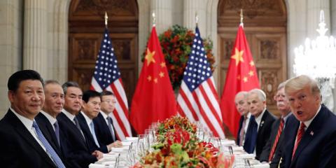 Negociadores de USA y China