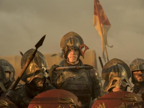 Noah Syndergaard como soldado de los Lannister.