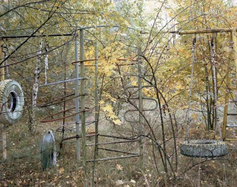 Columpios, Pripyat, 2002.