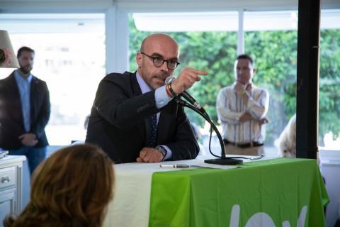 El número 1 de las listas de Vox a las Elecciones Europeas, Jorge Buxadé