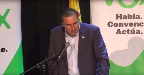 El número 1 de Vox al Ayuntamiento de Madrid, Javier Ortega Smith