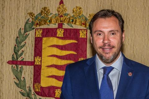 Óscar Puente, candidato a la alcaldía de Valladolid por el PSOE