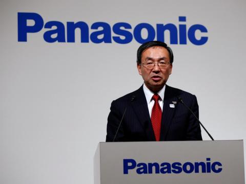Panasonic's president, Kazuhiro Tsuga.