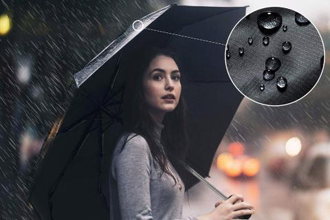 Paraguas automático e impermeable resistente a las tormentasGadHome