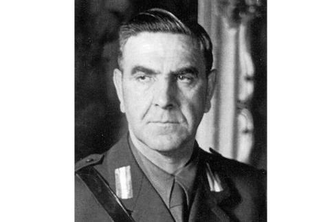 Ante Pavelić, dictador de Croacia entre 1941 y 1945