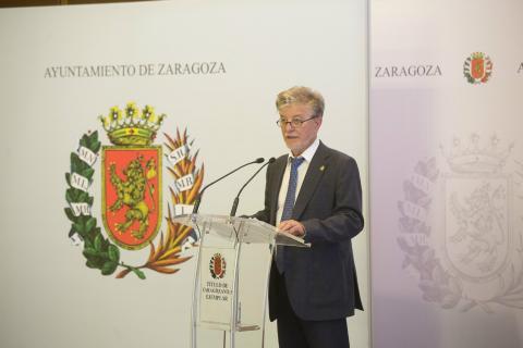 Pedro Santiesteve, alcalde de Zaragoza.