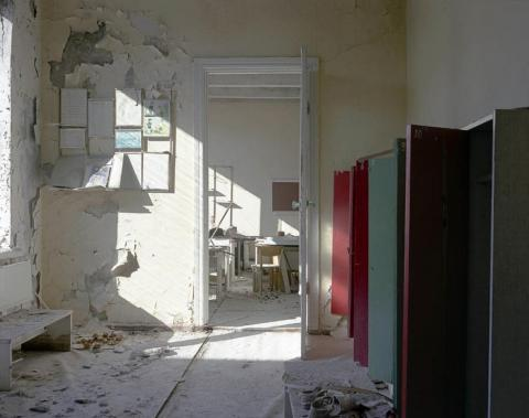 Entrada a una clase, Pripyat, 1994.