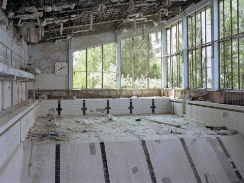 Piscina, Pripyat, 2003.