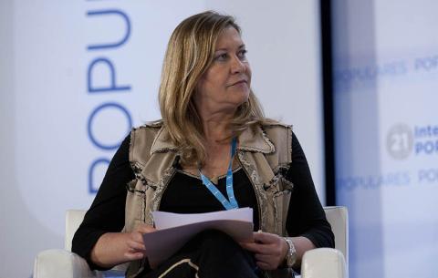 Pilar del Olmo, candidata del PP a la alcaldía de Valladolidq