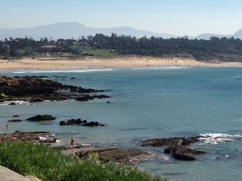 Playa de Los Tranquilos, Ribamontán al Mar (Cantabria)