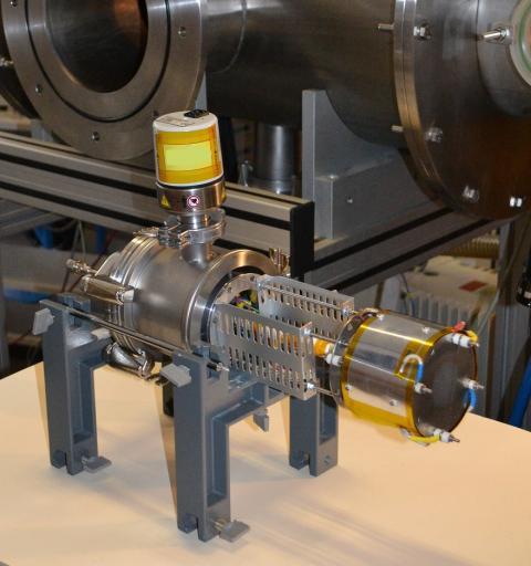 Prototipo del motor de plasma