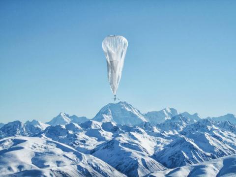 El proyecto Loon está trabajando para introducir Internet en lugares remotos utilizando globos.
