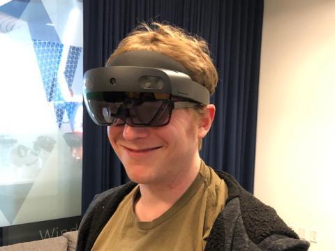Prueba de las HoloLens 2