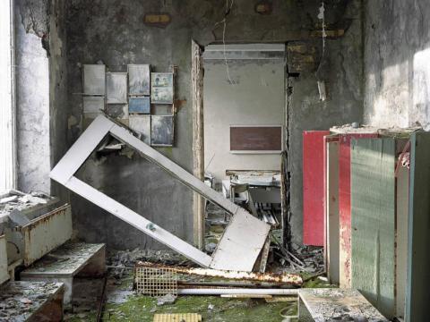 Entrada a una clase, Pripyat, 2005.