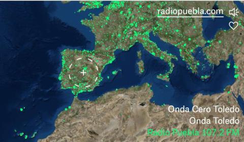 Radio Garden aplicacón