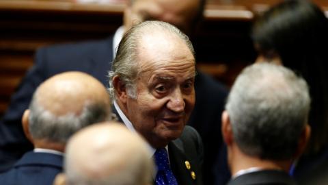 El rey Juan Carlos, en una imagen de archivoEl rey Juan Carlos, en una imagen de archivo