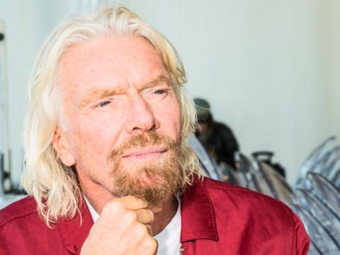 Richard Branson, fundador de Virgin Group