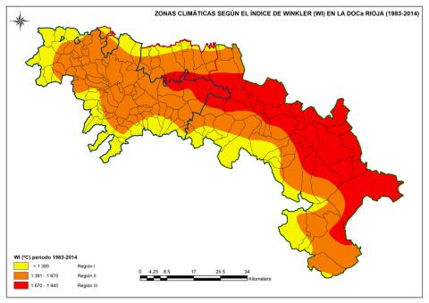 La Rioja cambio climático