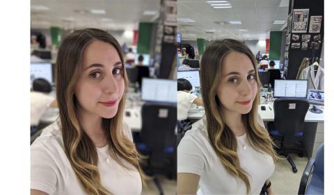 selfie interiores pixel 3a xl