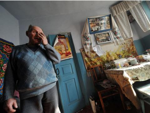Semenyuk remembers what happened the night of the explosion — he could hear the glass in the window shaking, but even when he was told what had happened, he said he wasn't scared.