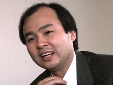Cofundador de SoftBank Masayoshi Son - Edad 24