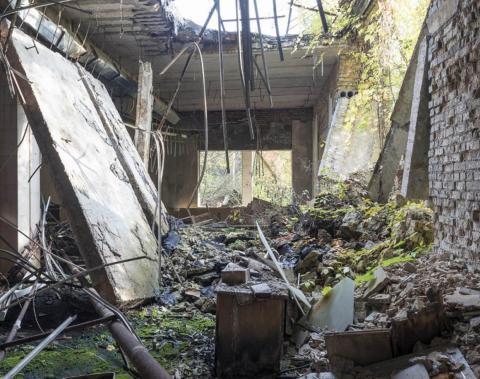 Librería, Pripyat, 2012.