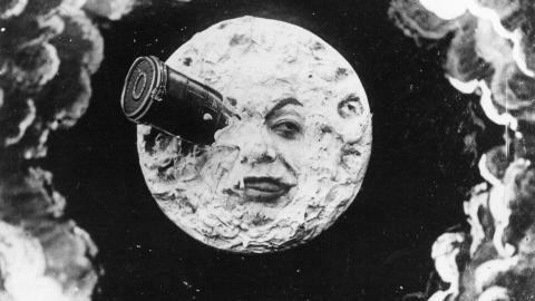 Space travel — 'Le Voyage Dans La Lune,' 1902