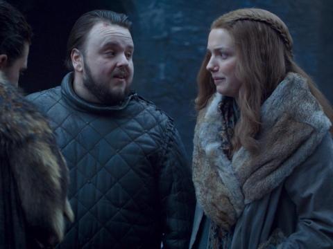 Jon se despide de Sam y Gilly en Invernalia.