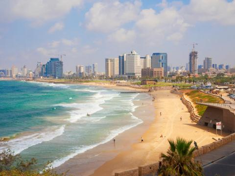 T12. Israel, and Tel Aviv in particular, has become a hotspot for tech startups and luxury real estate.