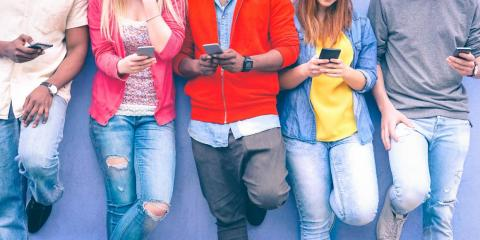 Teens would rather text than talk to their friends.