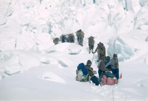 Their mission was part of a British expedition that began with 350 porters and 20 Sherpas to support 10 hand-picked climbers, designed to ensure a successful summit.