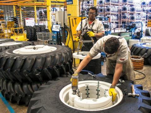 2. Tire manufacturing had a 35% decline in employment between 2013 and 2018. 84.8% of workers in the industry in 2018 were men.