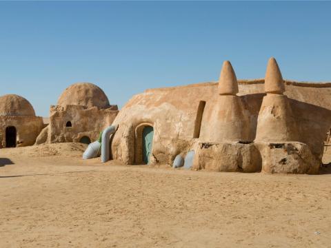 Puedes contratar una visita guiada sobre Star Wars en Túnez