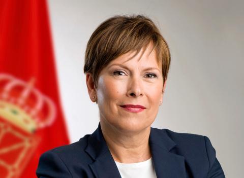 Uxue Barkos, candidata de Geroa Bai a la presidencia de Navarra