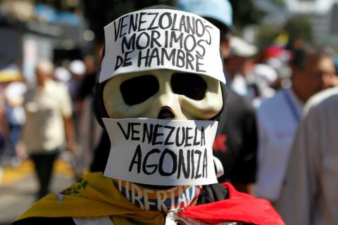 Venezuela's estimated unemployment rate stands at a staggering 44%