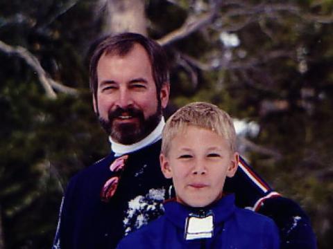 Roy Raymond (left).